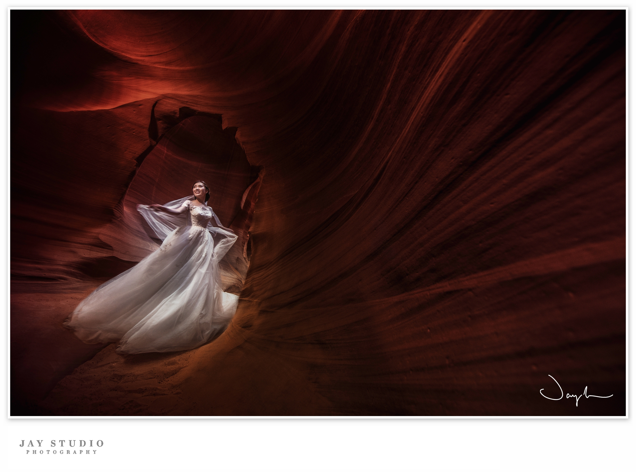 antelope canyon prewedding