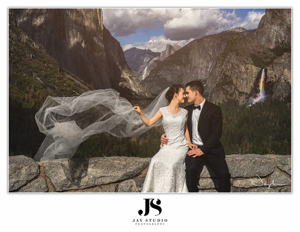 Yosemite wedding Photo