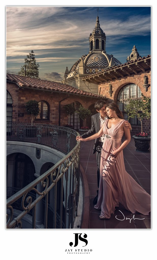 los angeles prewedding photo