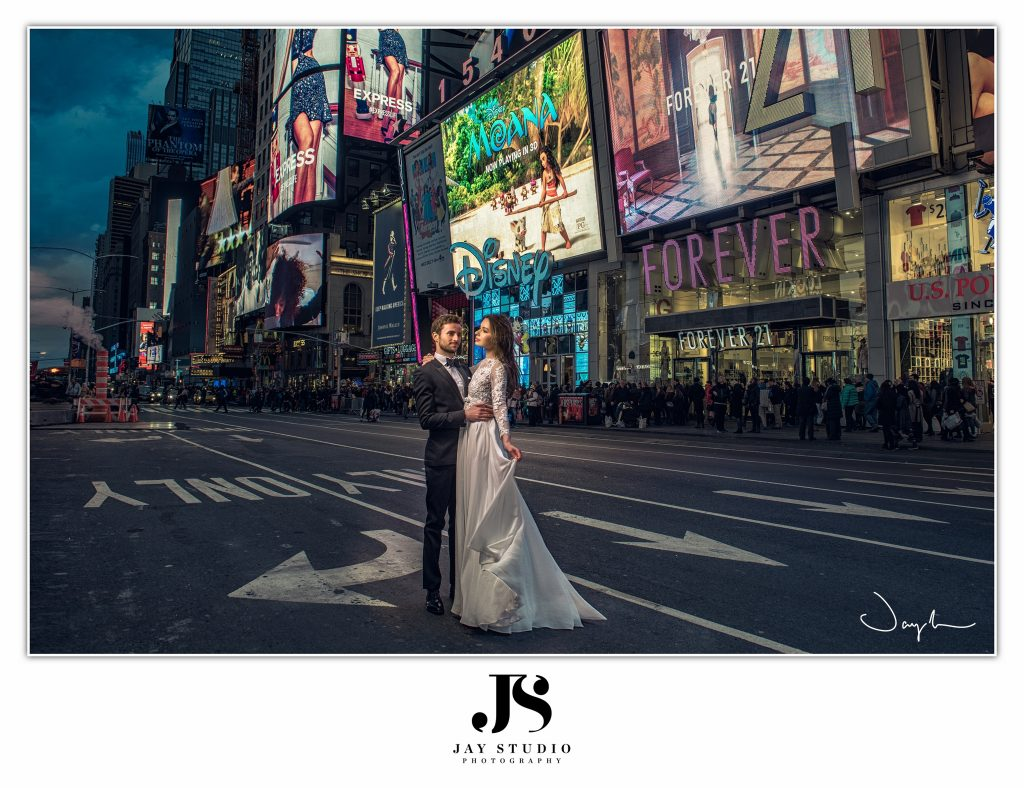 Times Square Pre Wedding