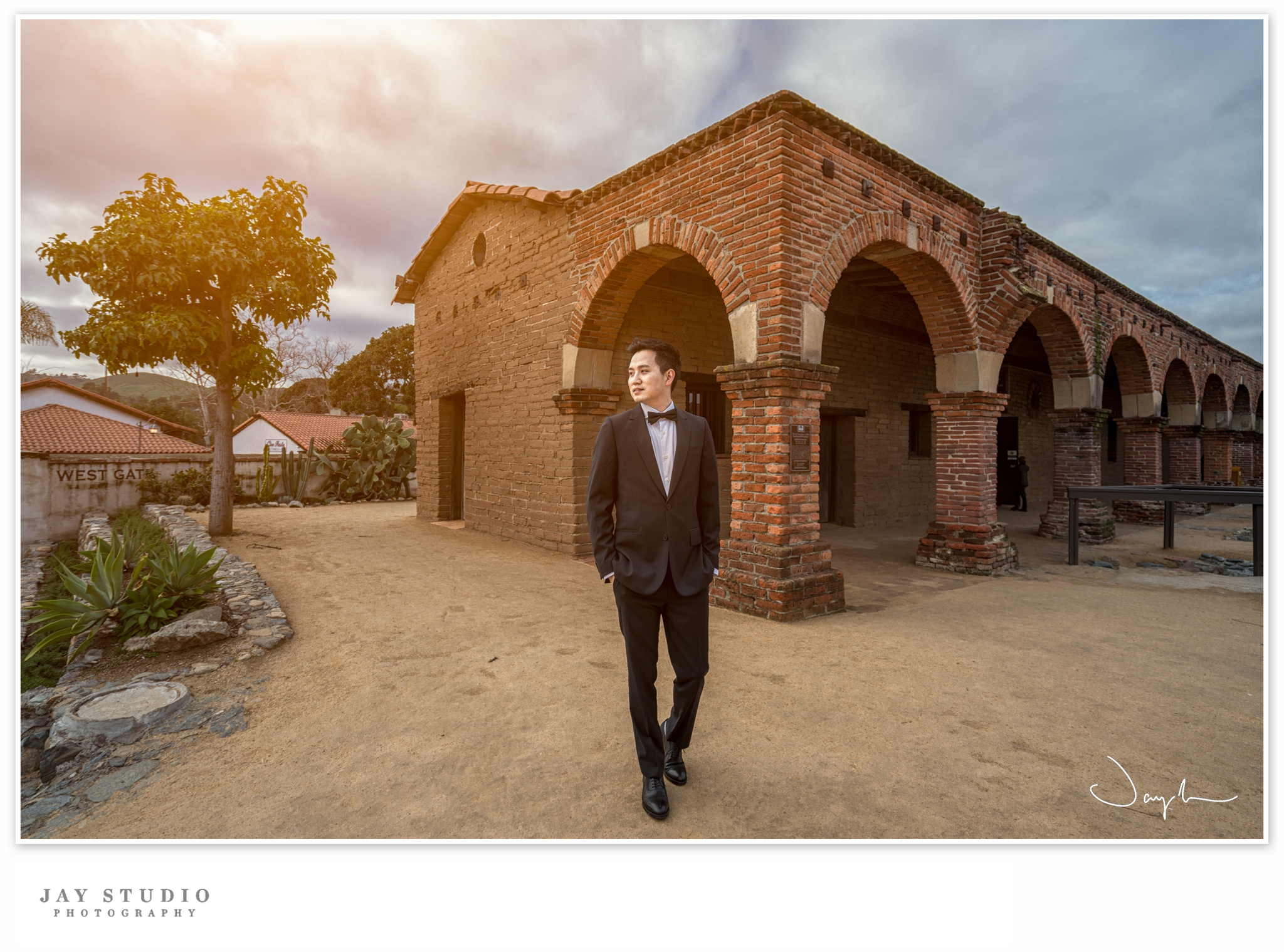 mission san juan capistrano pre wedding