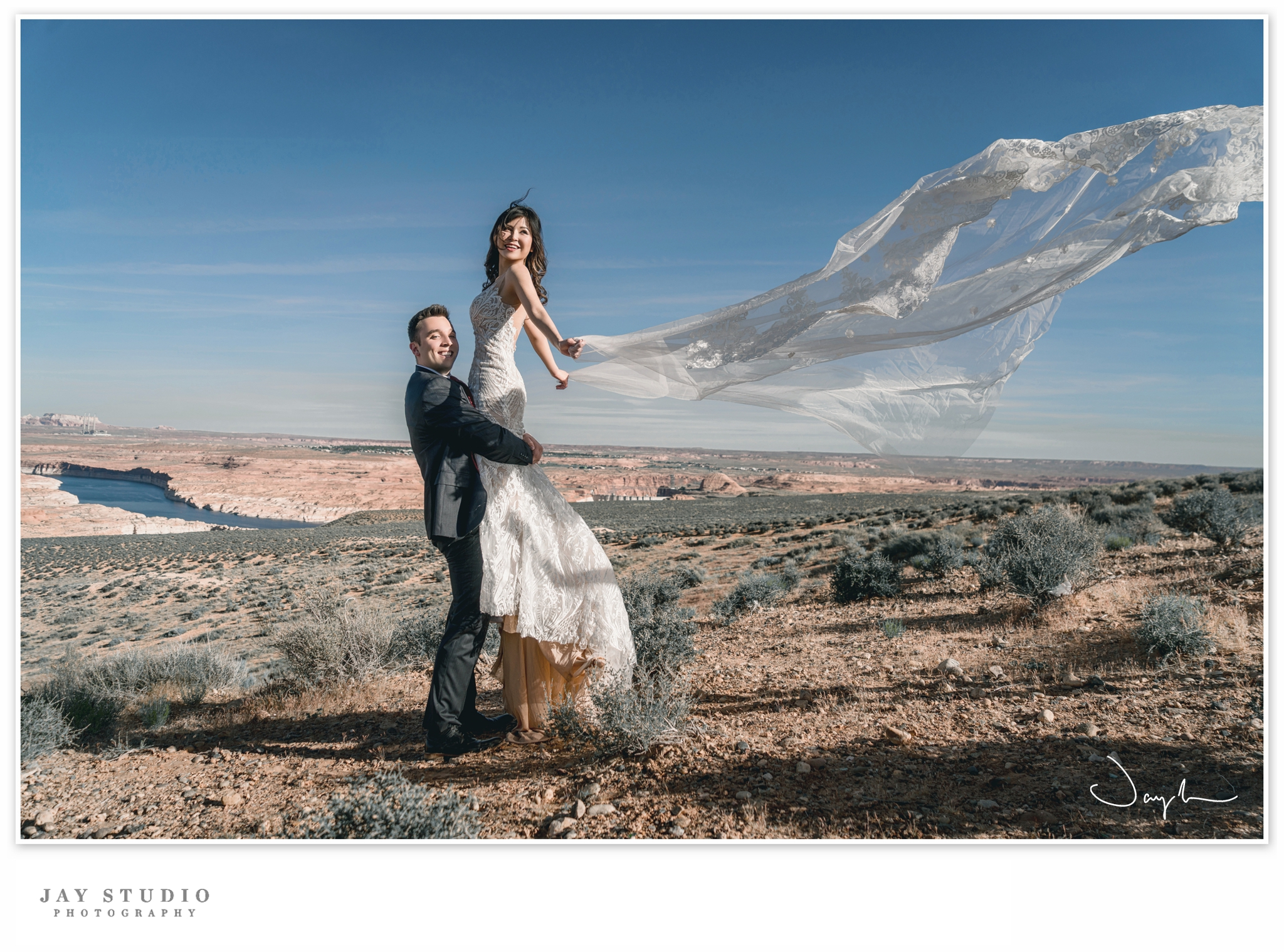 lake powell prewedding