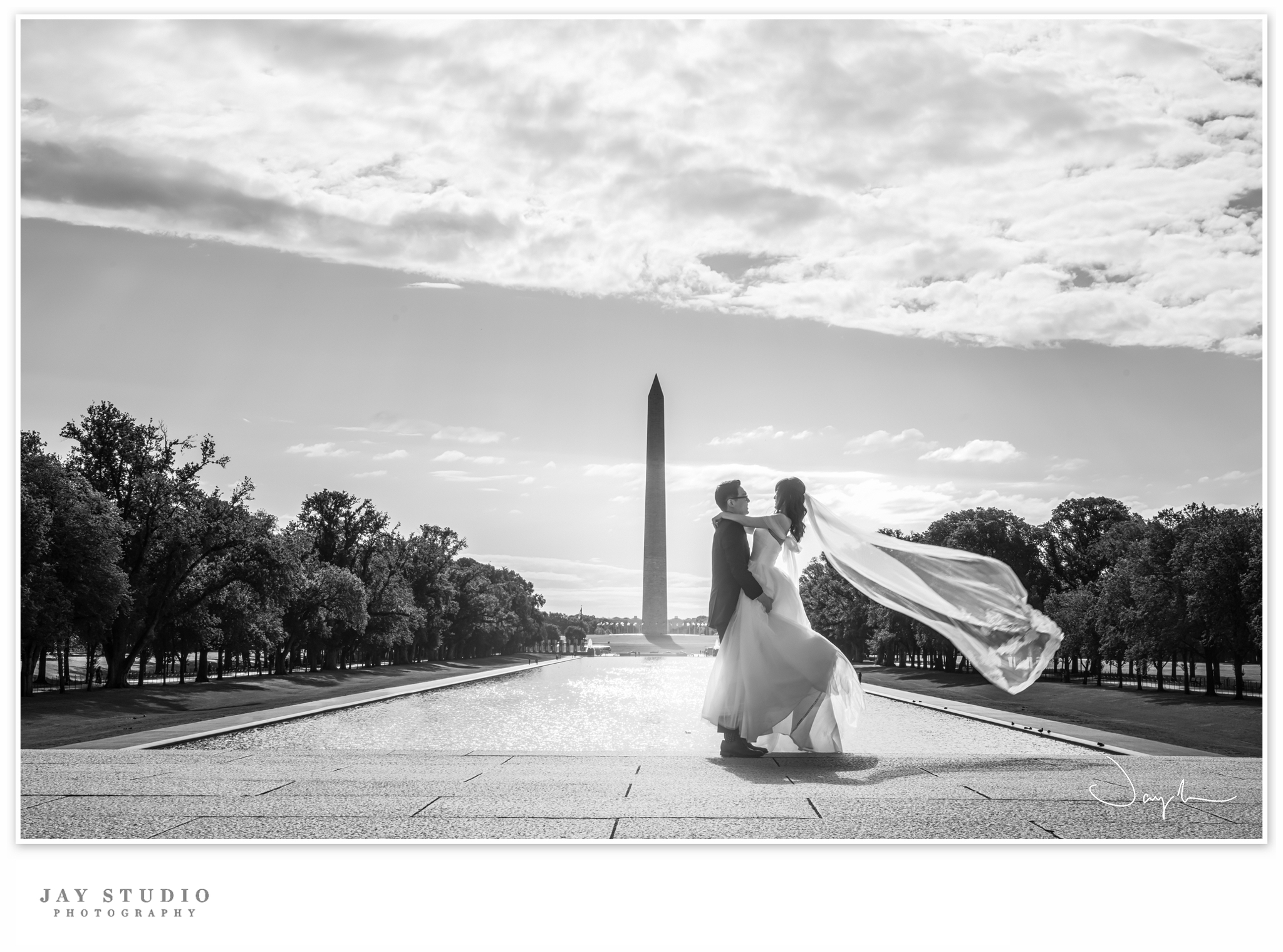 washington dc wedding photo