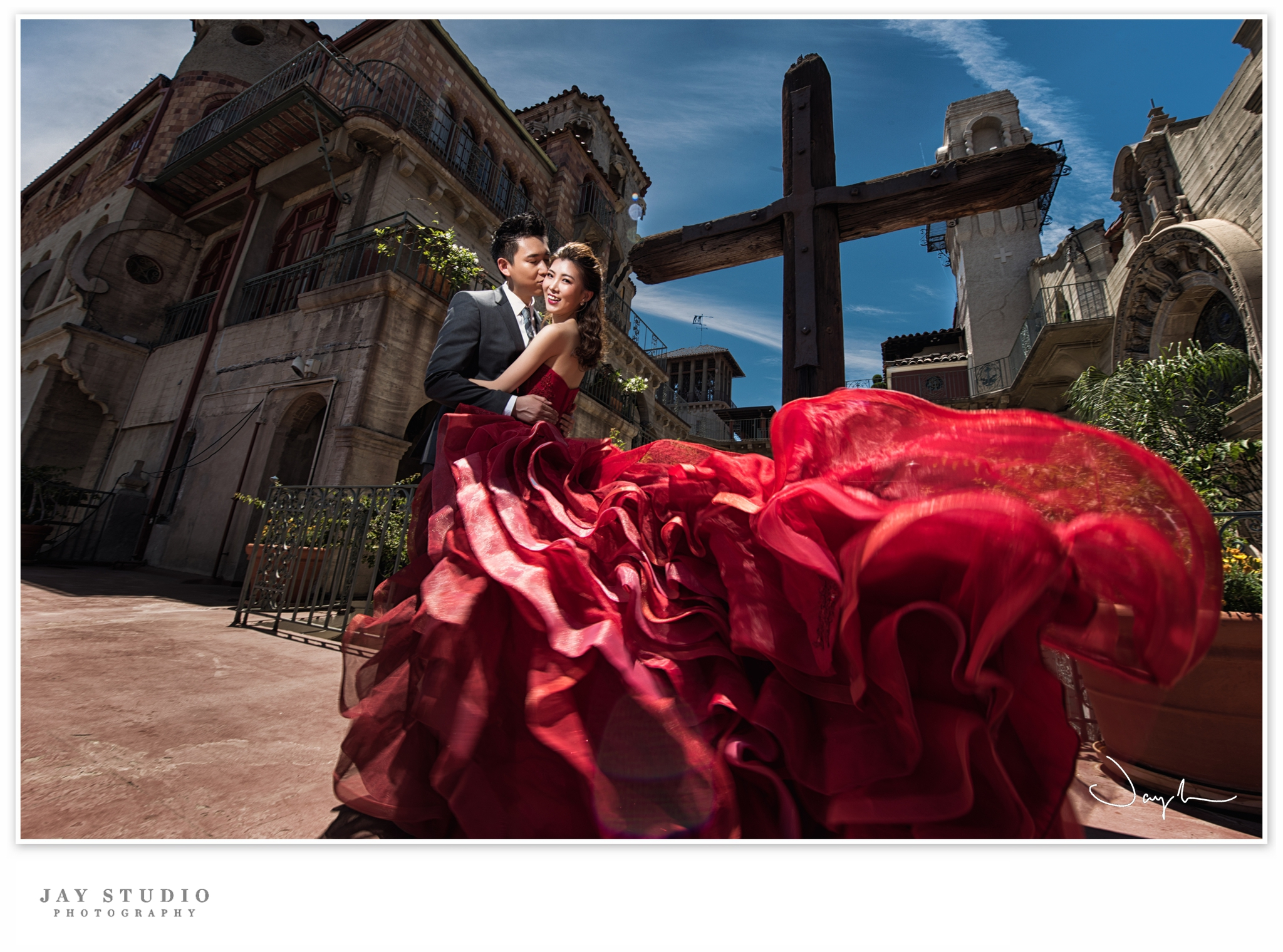 mission inn pre wedding