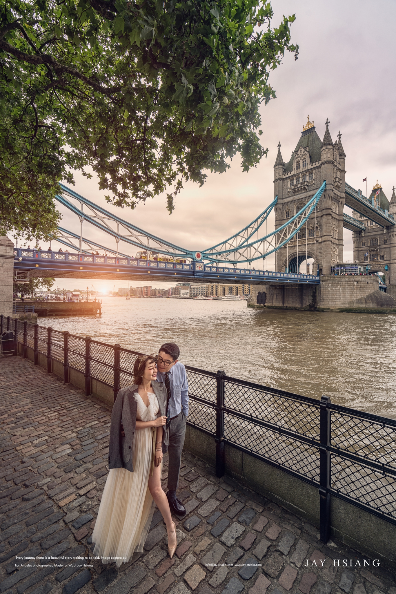 London pre wedding photo