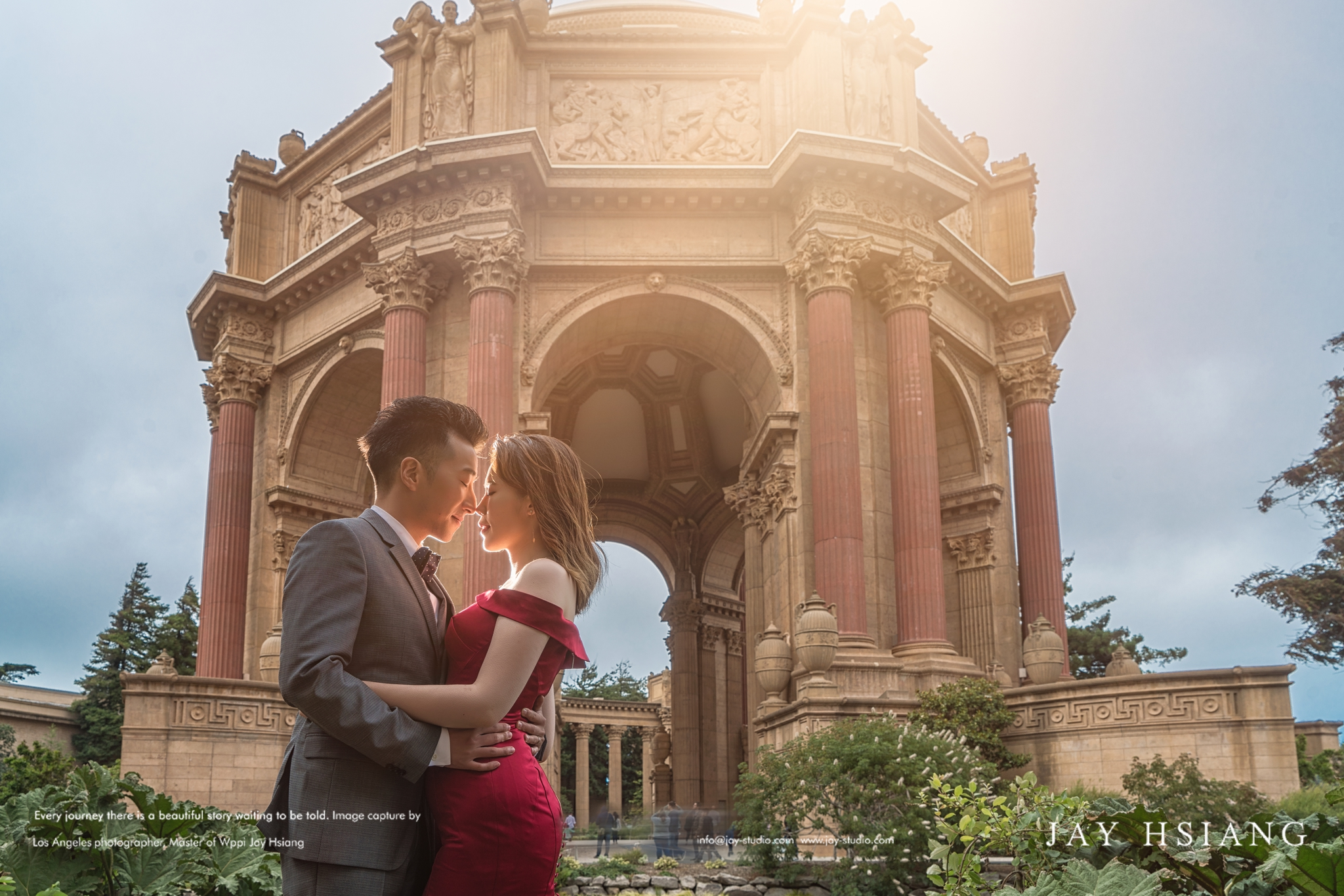 san francisco pre wedding photo