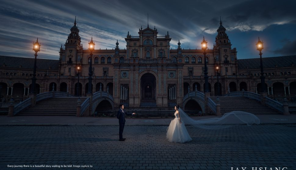 Seville Spain Pre Wedding