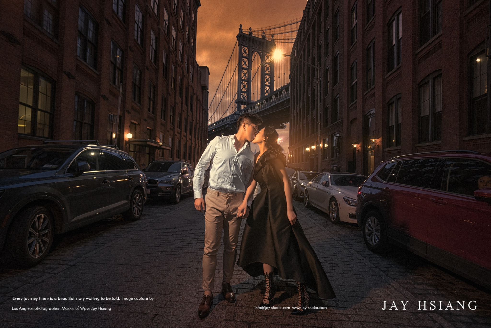 Dumbo new york pre wedding photo