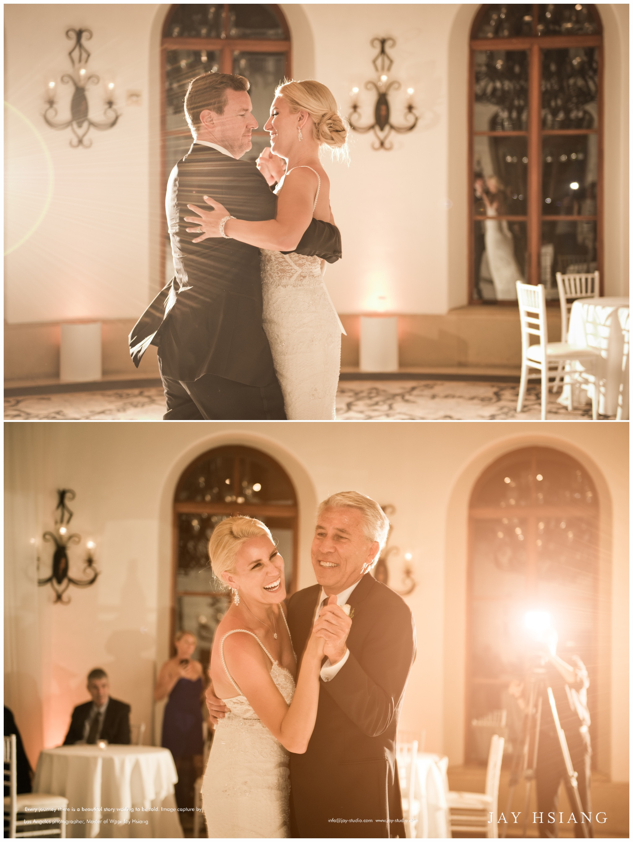 first dance los angeles wedding