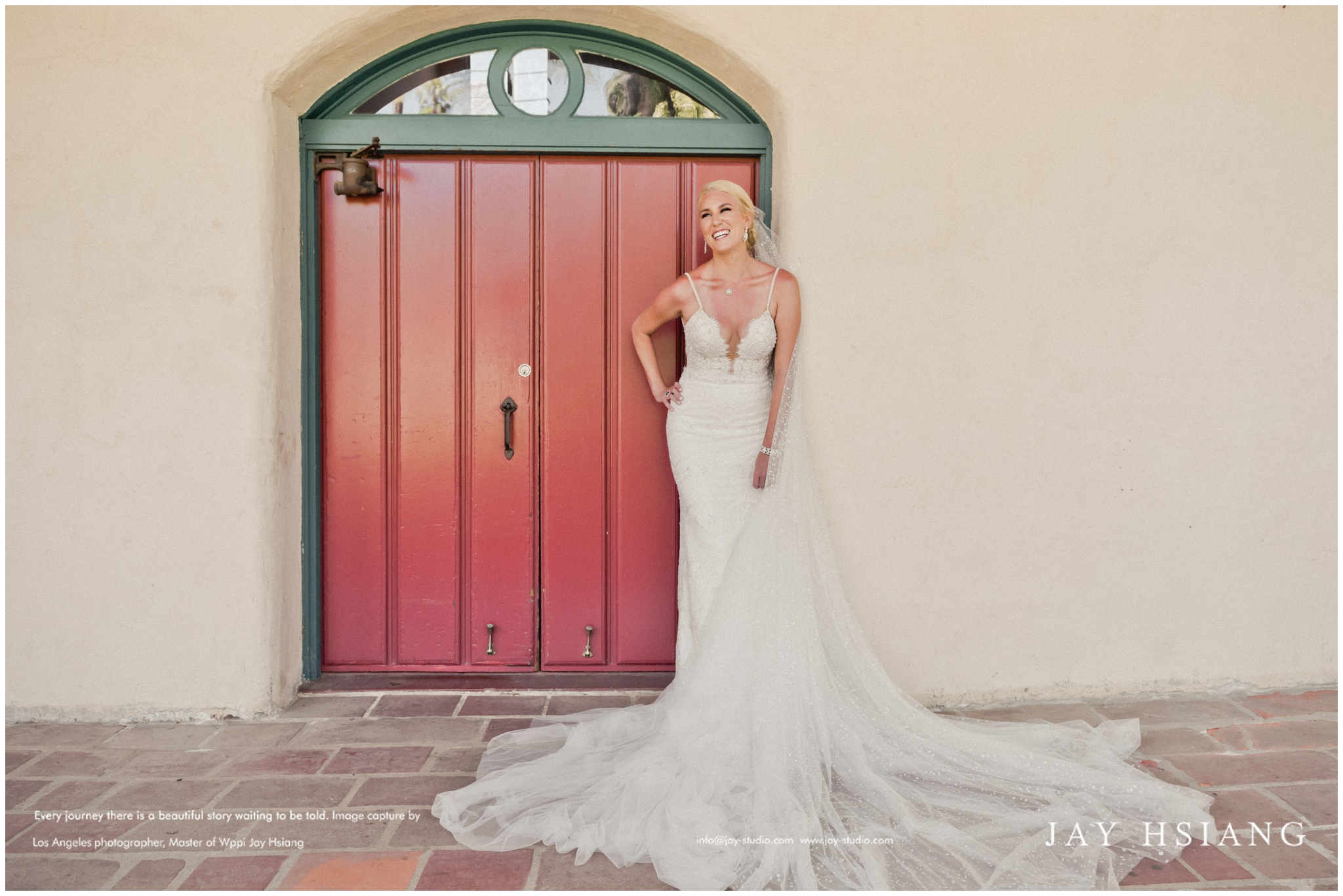 wedding bridal portrait los angeles
