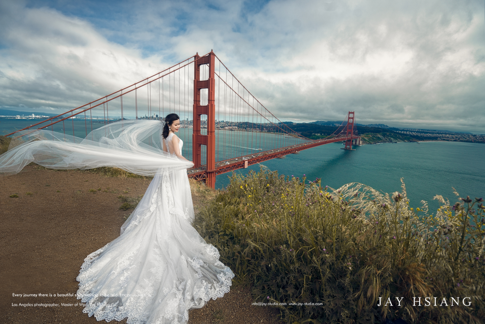 sf wedding photo