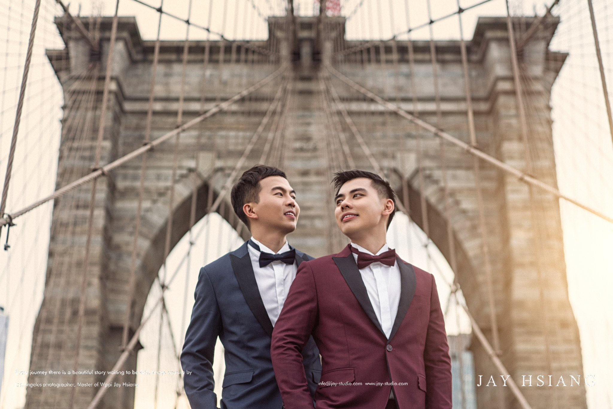 gay engagement photo