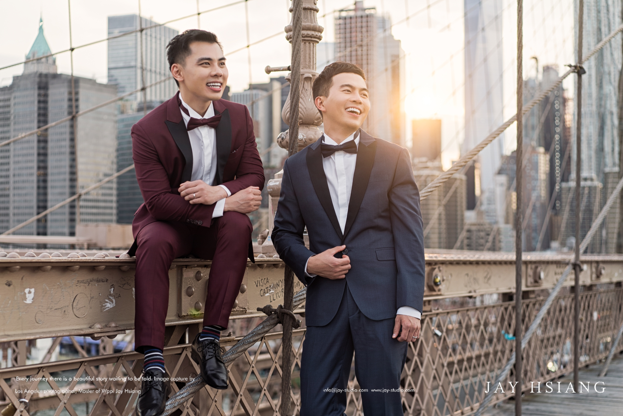 same sex engagement photo new york