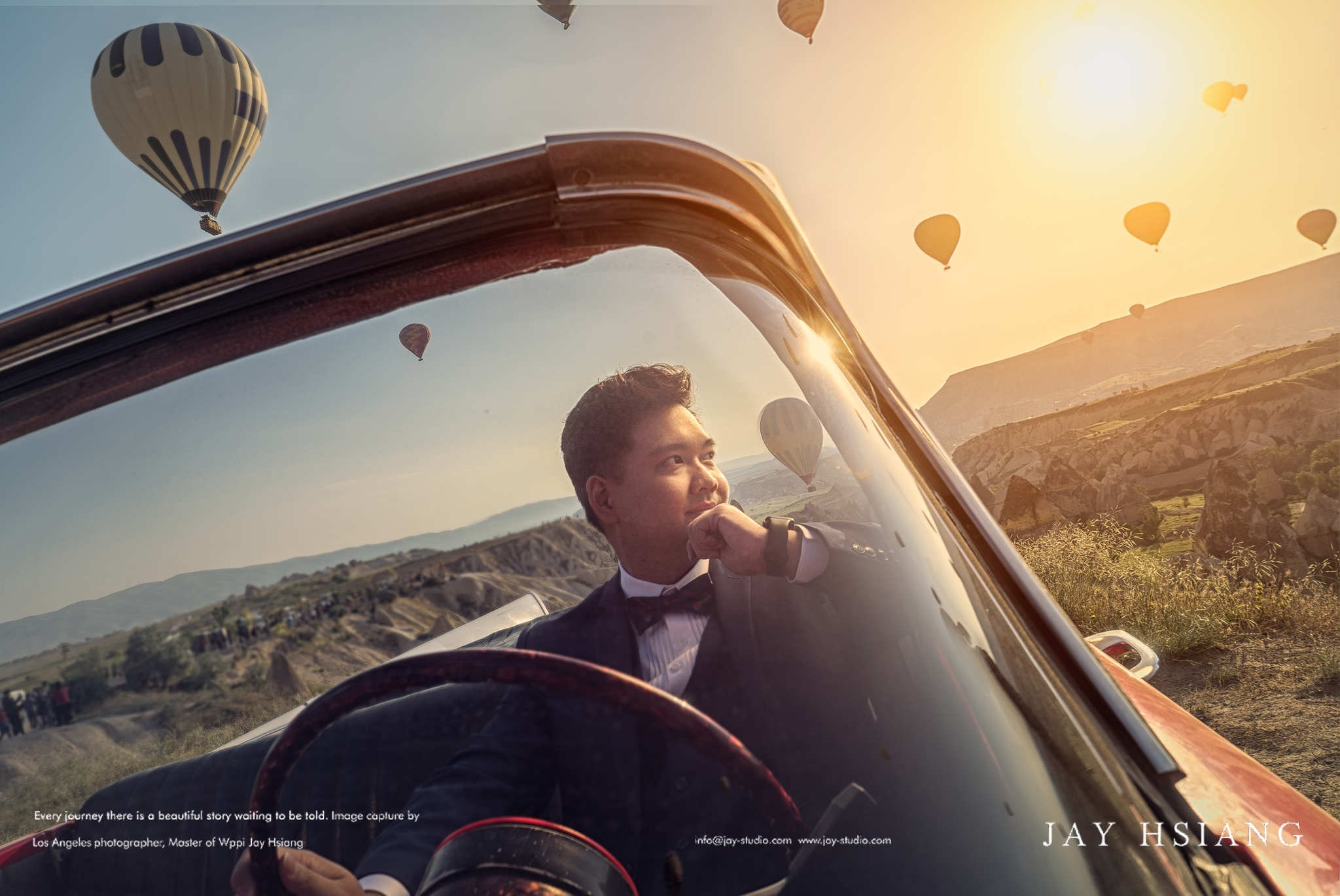 Cappadocia pre wedding photo