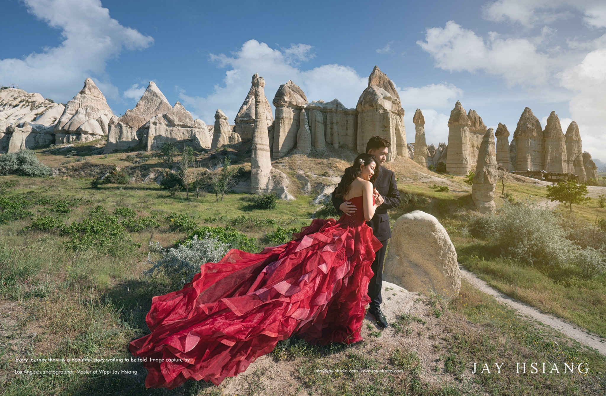 Cappadocia Turkey pre wedding photoshoot