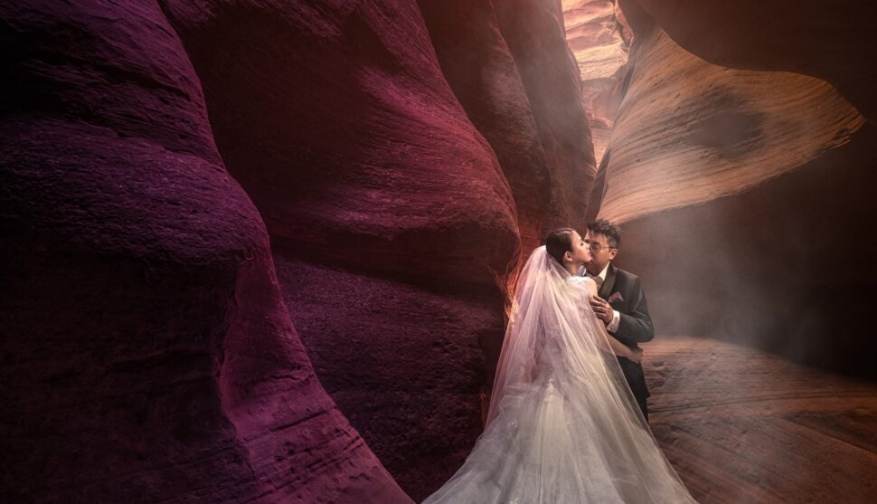 Las Vegas + Antelope Canyon Pre Wedding