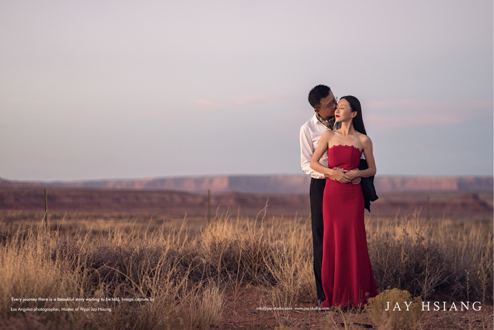 monument valley wedding photo