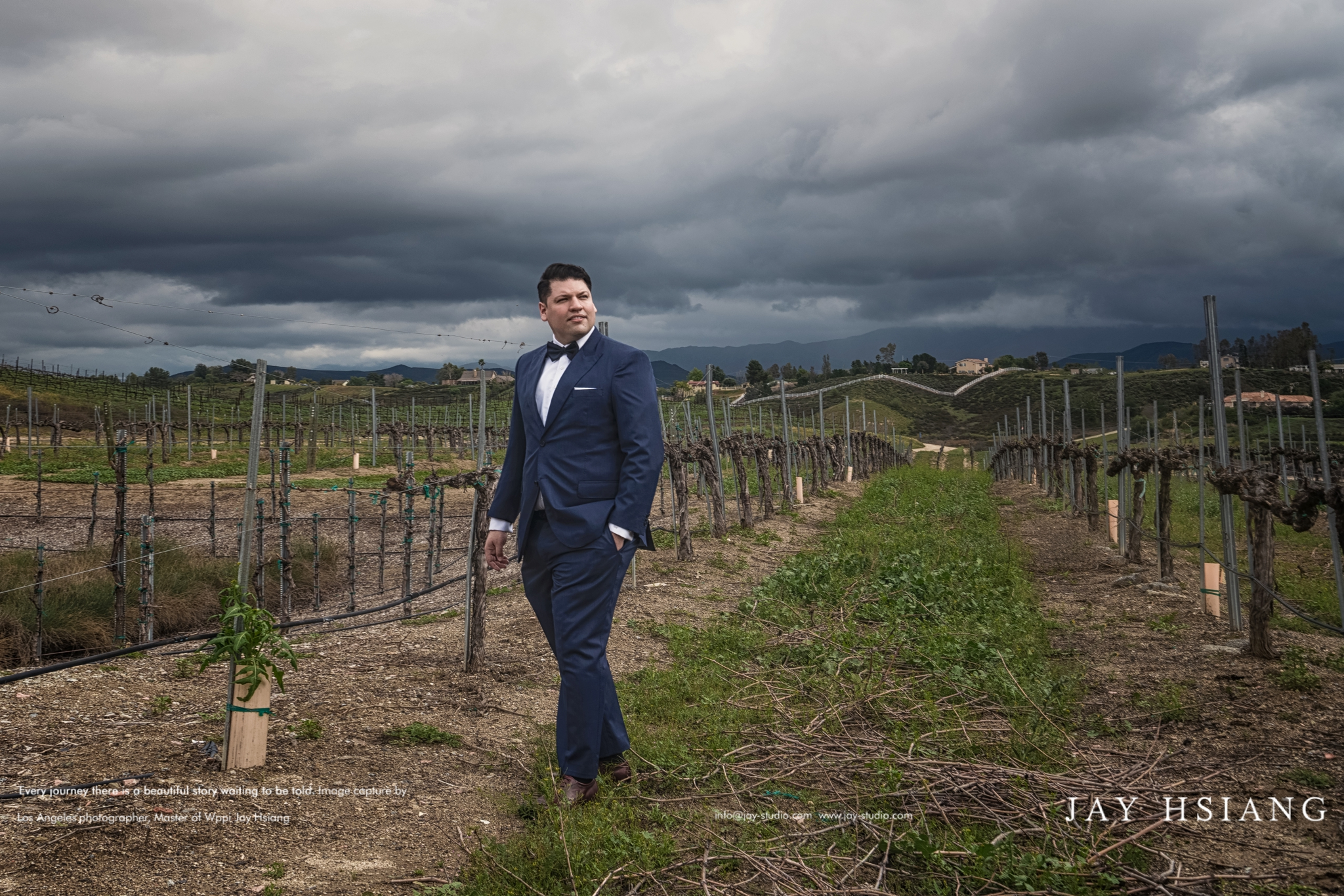 Temecula winery wedding photo