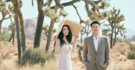 Joshua Tree Engagement Photography